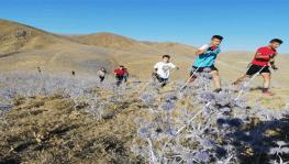 Kış sporları için karsız dağlarda antrenman