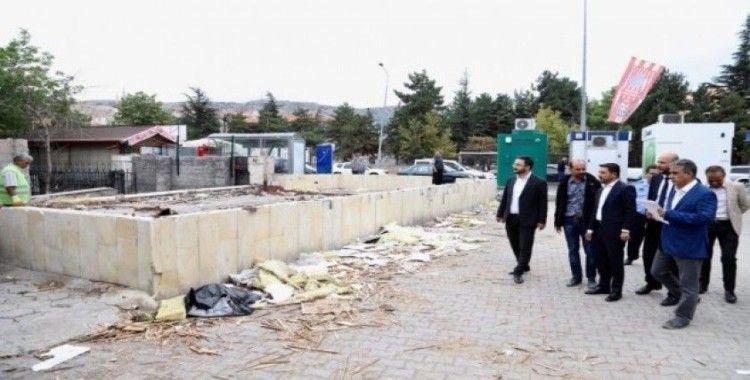 Necdet Ersan parkı yenilenen görüntüsü ile çok beğenilecek