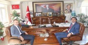 Ağrı Milli Eğitim Müdürü Tekin'den Taşlıçay Belediye Başkanı Taşdemir'e ziyaret