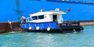 Denizi kirleten 12 gemiye 14,5 milyon lira ceza
