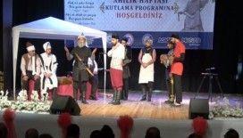 800 yıllık ahilik geleneğini tiyatro oyunu ile canlandırıldı