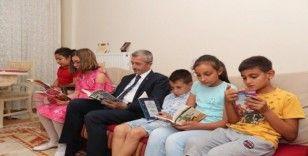 Tahmazoğlu'ndan 'Ben okuyorum, Gaziantep okuyor' projesine destek