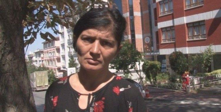 İşten çıkarılan kadın işçi HDP Genel Merkezi önünde eylem yaptı