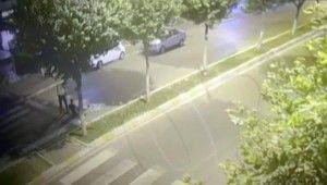 Önce drift yaptı, kaçarken düşüp polise yakalandı