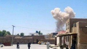 Afganistan Cumhurbaşkanı Gani'nin katıldığı mitingde intihar saldırısı