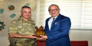 Albay Dere'den Başkan Ergün'e veda