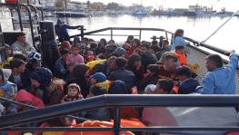 Çanakkale'de 95 kaçak göçmen yakalandı