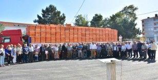 Malkara'da üreticilere 508 arı kovanı dağıtıldı