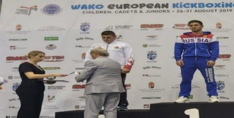 Kick Boks Gençler Avrupa ikincisi oldu