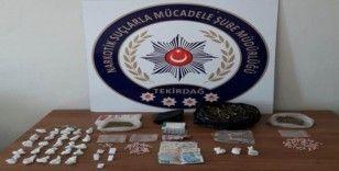 Tekirdağ'da uyuşturucu operasyonu: 17 kişi yakalandı