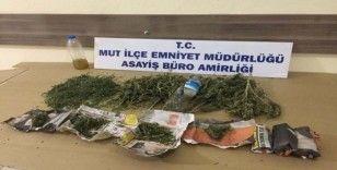 Mut'ta uyuşturucu operasyonunda 2 tutuklama