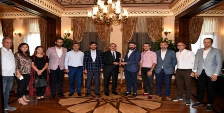 MÜSİAD Antalya Şubesi'nden Vali Karaloğlu'na ziyaret