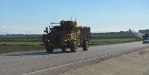 Hatay'da zırhlı araç ve komando sevkiyatı