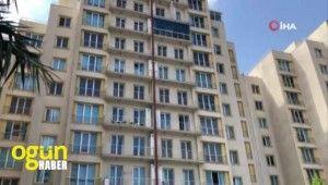 Esenyurt'ta bakıcı kadın metrelerce yükseklikten yere çakıldı