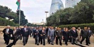 Kafkas İslam Ordusu Harekatı'nın 101. yıl kutlamaları Azerbaycan'da yapıldı
