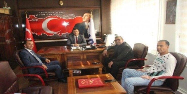 Genel Başkan Çelik, Kilis'te temaslarda bulundu