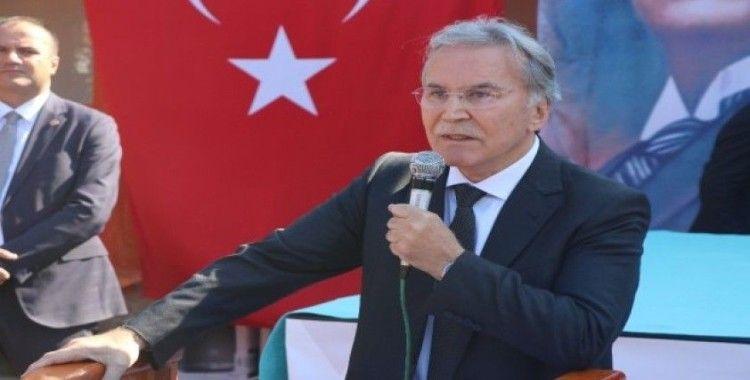 """Mehmet Ali Şahin: """"Terör devletinin kurulmasına asla izin vermeyiz"""""""