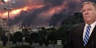 Pompeo Aramco saldırısını 'savaş nedeni' olarak gösterdi