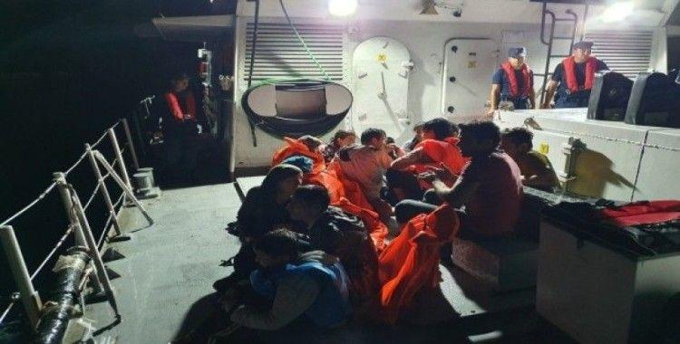 İzmir'de 252 düzensiz göçmen yakalandı