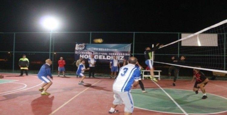 İnönü'de spor faaliyetleri sürüyor