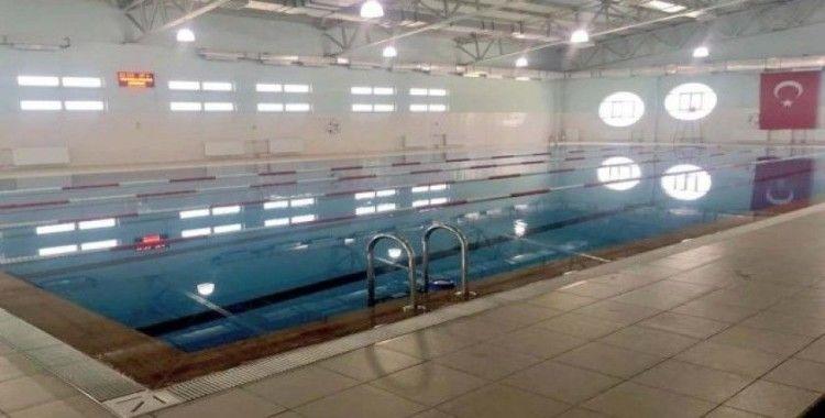 Gürün yüzme havuzu onarıldı