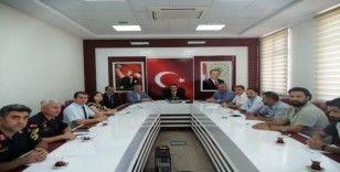 Kahta'da spor güvenlik kurulu toplandı.