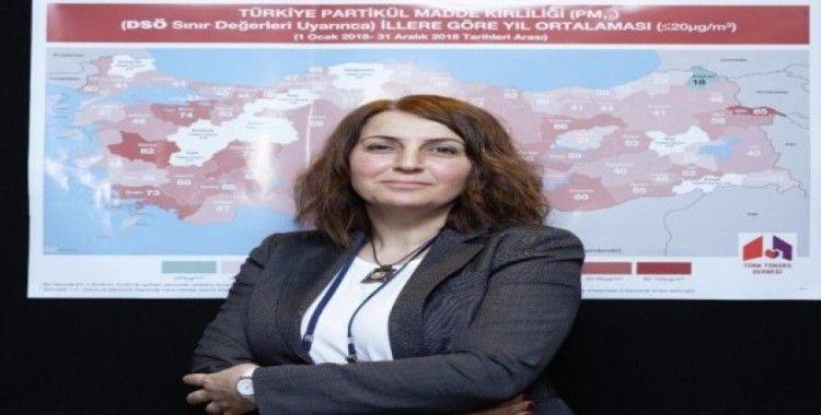 """Türk Toraks Derneği Başkanı Bayram: """"İklim krizindeyiz"""""""