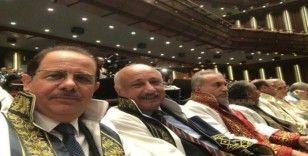 Rektör Durmuş, Beştepe'deki yükseköğretim akademik yılı açılış törenine katıldı