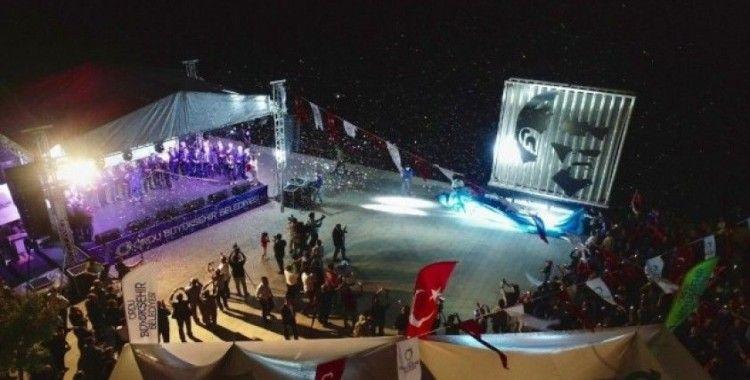 Ordu'da Atatürk portresi açılışı