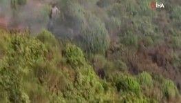 Ormanda yangın çıkarmaya çalışan şüpheli yakalandı