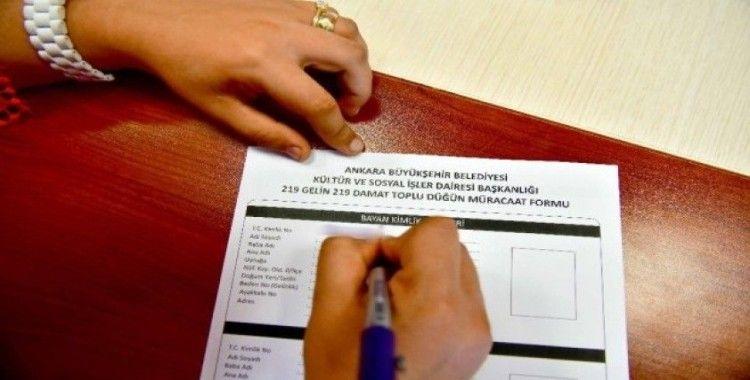 Büyükşehir Belediyesi toplu nikah töreni için başvuru kayıtları devam ediyor