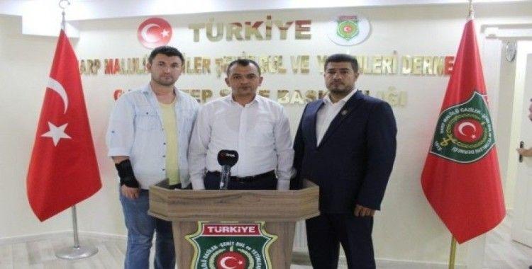 Gazi şehrin gazilerinden İzmir'deki skandala tepki
