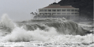 Japonya'da yine tayfun alarmı