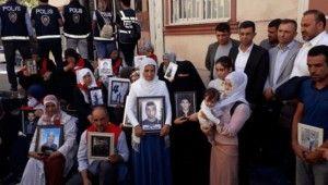 Terör mağduru ailelerden Diyarbakır'a destek geldi