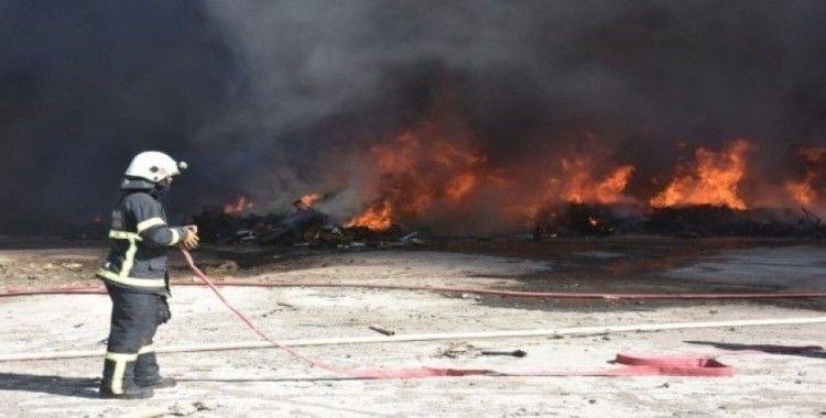 Kırıkkale OSB'de fabrika yangını kontrol altına alındı