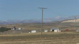 Kars'a mevsimin ilk karı düştü