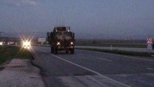 Sınır birliklerine sevkiyat devam ediyor