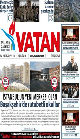 Güzel Vatan Gazetesi sayı:114