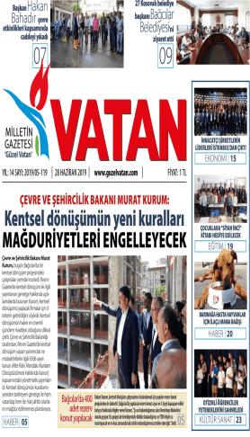 Güzel Vatan Gazetesi sayı:118
