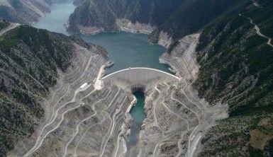 Deriner Barajı'nda elektrik üretimi 11 milyar KW'yi geçti