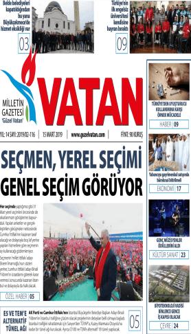 Güzel Vatan Gazetesi sayı:115