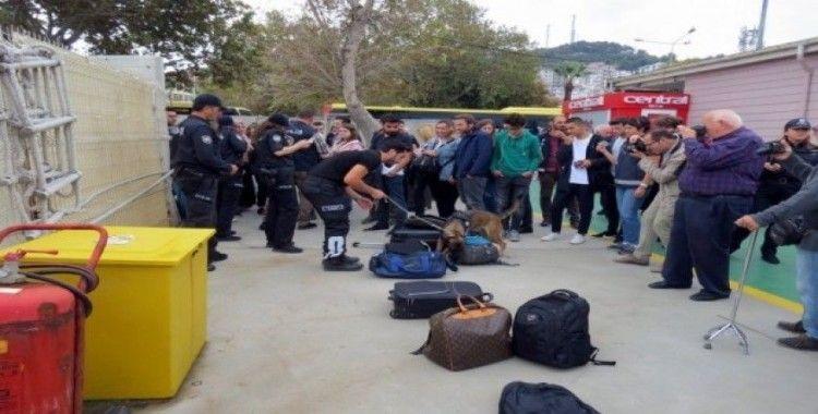 Mudanya'da şok operasyon