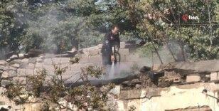 Gaziosman Mahallesi'nde korkutan yangın