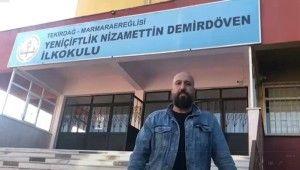 Orhan Osmanoğlu, Tekirdağ'daki depremden hasar almış okulu inceledi