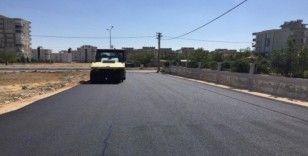 Yeni Mahallede asfalt çalışması