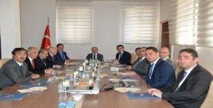 KUDAKA 115. Yönetim Kurulu Toplantısı, Bayburt Valisi Epcim başkanlığında yapıldı