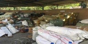 Kocaeli'de 2 milyon TL'lik gümrük kaçağı eşya ele geçirildi