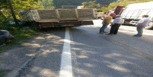 Araklı-Bayburt karayolunda kaza: 2 yaralı
