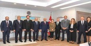 BM Kalkınma Programı heyetinden Vali Demirtaş'a ziyaret