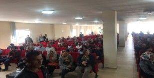 Kangal'da TYP kapsamında işe alınan vatandaşlar kura ile belirlendi
